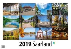Saarland 2019 von Kuhn,  Birgit, Kuhn,  Claus, Kuhn,  Rainer, Schmelzer,  Manfred