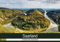 Saarland – unbekannte Schönheit (Tischkalender 2019 DIN A5 quer) von Becker,  Thomas