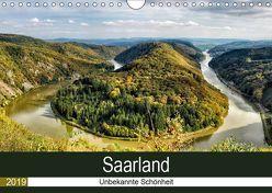 Saarland – unbekannte Schönheit (Wandkalender 2019 DIN A4 quer) von Becker,  Thomas