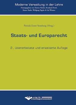 Saats- und Europarecht von Sensburg,  Patrick Ernst