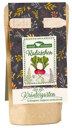 """Saatvogel Küchenkräuter Radieschen """"Raxe"""" von Engeln,  Reinhard"""