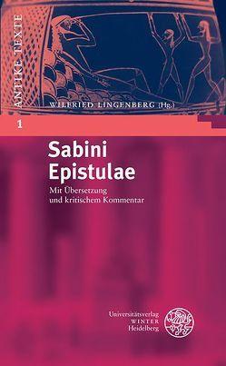 Sabini Epistulae von Lingenberg,  Wilfried