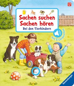 Sachen suchen, Sachen hören: Bei den Tierkindern von Nahrgang,  Frauke, Schargan,  Constanze