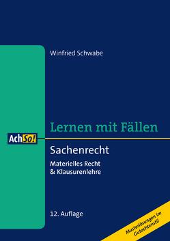 Sachenrecht von Schwabe,  Winfried