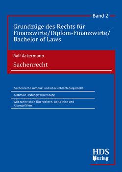 Sachenrecht von Ackermann,  Ralf