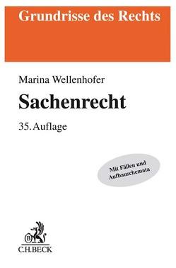 Sachenrecht von Wellenhofer,  Marina, Wolf,  Manfred