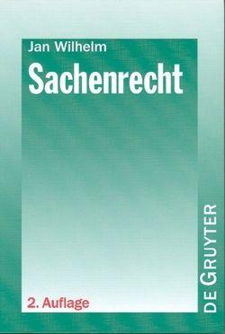 Sachenrecht von Wilhelm,  Jan