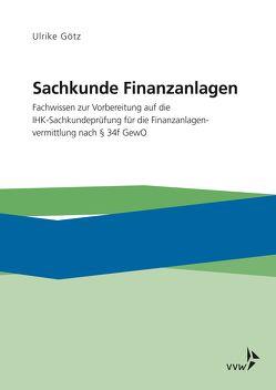 Sachkunde Finanzanlagen von Götz,  Ulrike