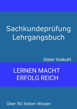 Sachkundeprüfung Lehrgangsbuch von Voskuhl,  Dieter