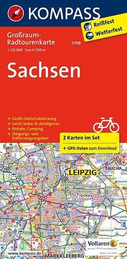 Sachsen von KOMPASS-Karten GmbH