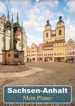 Sachsen-Anhalt – Mein Planer (Wandkalender 2018 DIN A2 hoch) von Wasilewski,  Martin