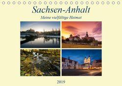 Sachsen-Anhalt – Meine vielfältige Heimat (Tischkalender 2019 DIN A5 quer) von Wasilewski,  Martin