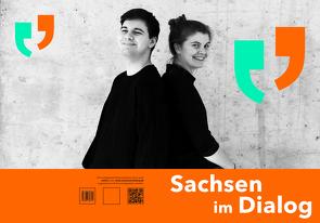 Sachsen im Dialog von Kaufmann,  René, Kultur Aktiv e.V., Schumann,  Matthias