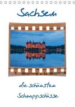 Sachsen (Tischkalender 2018 DIN A5 hoch) von Kirsch,  Gunter