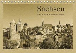 Sachsen (Tischkalender 2018 DIN A5 quer) von Kirsch,  Gunter