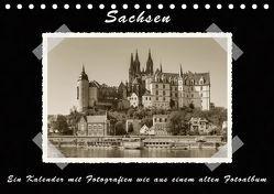 Sachsen (Tischkalender 2019 DIN A5 quer) von Kirsch,  Gunter