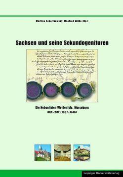 Sachsen und seine Sekundogenituren von Schattkowsky,  Martina, Wilde,  Manfred