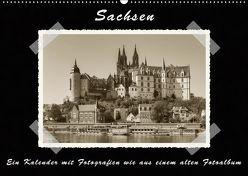 Sachsen (Wandkalender 2019 DIN A2 quer) von Kirsch,  Gunter