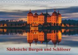 Sächsische Burgen und Schlösser / CH-Version (Tischkalender 2018 DIN A5 quer) von Kirsch,  Gunter