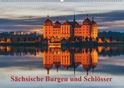 Sächsische Burgen und Schlösser / CH-Version (Wandkalender 2019 DIN A2 quer) von Kirsch,  Gunter