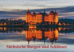 Sächsische Burgen und Schlösser (Tischkalender 2019 DIN A5 quer) von Kirsch,  Gunter