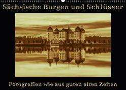 Sächsische Burgen und Schlösser (Wandkalender 2018 DIN A2 quer) von Kirsch,  Gunter