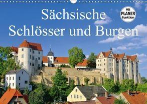 Sächsische Schlösser und Burgen (Wandkalender 2018 DIN A3 quer) von LianeM