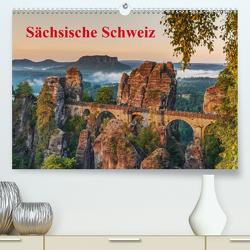 Sächsische Schweiz / CH-Version (Premium, hochwertiger DIN A2 Wandkalender 2020, Kunstdruck in Hochglanz) von Kirsch,  Gunter