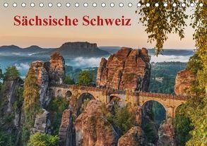 Sächsische Schweiz / CH-Version (Tischkalender 2018 DIN A5 quer) von Kirsch,  Gunter