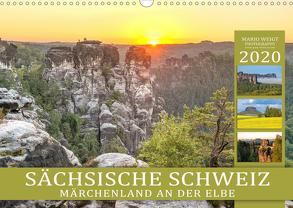 SÄCHSISCHE SCHWEIZ – Märchenland an der Elbe (Wandkalender 2020 DIN A3 quer) von Weigt Photography,  Mario