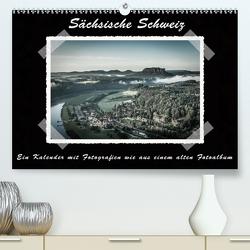 Sächsische Schweiz (Premium, hochwertiger DIN A2 Wandkalender 2021, Kunstdruck in Hochglanz) von Kirsch,  Gunter