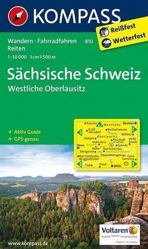 Sächsische Schweiz – Westliche Oberlausitz von KOMPASS-Karten GmbH