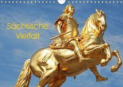 Sächsische Vielfalt (Wandkalender 2019 DIN A4 quer) von Bujara,  André