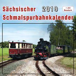Sächsischer Schmalspurbahnkalender 2019 von Böttger,  Thomas