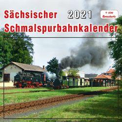 Sächsischer Schmalspurbahnkalender 2021 von Böttger,  Thomas