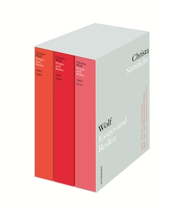 Sämtliche Essays und Reden in drei Bänden von Hilzinger,  Sonja, Wolf,  Christa