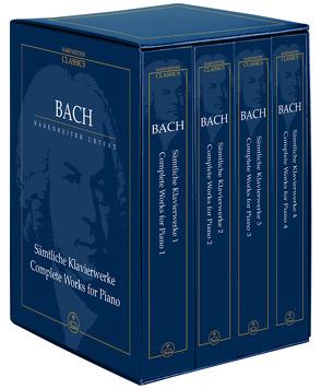 Sämtliche Klavierwerke von Bach,  Johann Sebastian