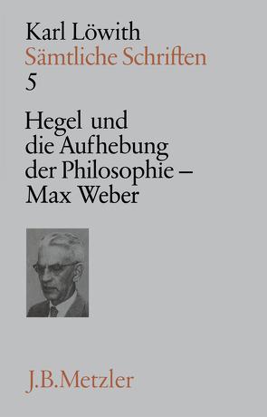 Sämtliche Schriften von Löwith,  Karl