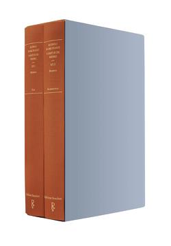 Sämtliche Werke Band XV (in zwei Teilbänden): Dramen von Borchardt,  Rudolf, Reinthal,  Angela, Schuster,  Gerhard