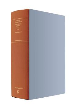 Sämtliche Werke Band XVI: Anthologien 1 von Baumann,  Patrick, Borchardt,  Rudolf, Schuster,  Gerhard