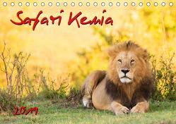 Safari Kenia (Tischkalender 2019 DIN A5 quer) von Gerd-Uwe Neukamp,  Dr.