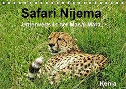 Safari Nijema – Unterwegs in der Masai Mara (Tischkalender 2019 DIN A5 quer) von Michel / CH,  Susan