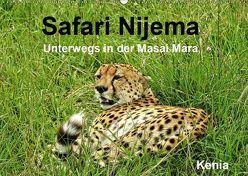 Safari Nijema – Unterwegs in der Masai Mara (Wandkalender 2019 DIN A2 quer) von Michel / CH,  Susan