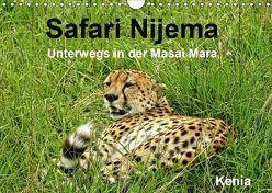 Safari Nijema – Unterwegs in der Masai Mara (Wandkalender 2019 DIN A4 quer) von Michel / CH,  Susan