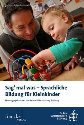Sag mal was – Sprachliche Bildung für Kleinkinder