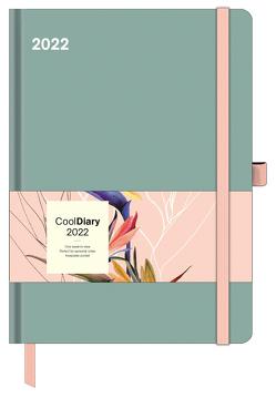 Sage Green 2022 – Diary – Buchkalender – Taschenkalender – 16×22