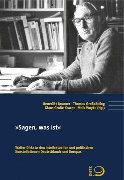 """""""Sagen, was ist"""" von Brunner,  Benedikt, Großbölting,  Thomas, Große Kracht,  Klaus, Woyke,  Meik"""