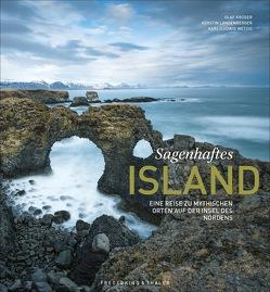 Sagenhaftes Island von Krüger,  Olaf, Langenberger,  Kerstin, Wetzig,  Karl-Ludwig