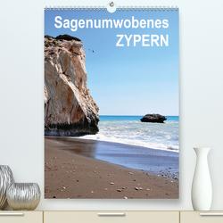 Sagenumwobenes ZYPERN (Premium, hochwertiger DIN A2 Wandkalender 2021, Kunstdruck in Hochglanz) von Goldinger,  Roman