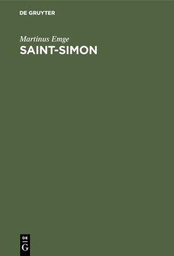 Saint-Simon von Emge,  Martinus